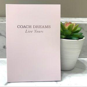 COACH I I Notebook Journal Organizer